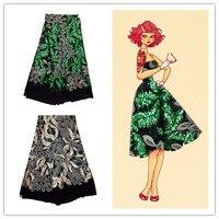Изящные цвета с аппликацией дизайн Африканский чистая кружевной ткани красивая вышивка шнур кружева французский сетка ткань для платья