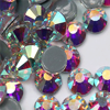 2058HF Crystal AB SS6-SS30 Strass Hot Fix Rhinestone Crystal Stone HotFix Flat Back Rhinestones Stones For Decoration Clothes