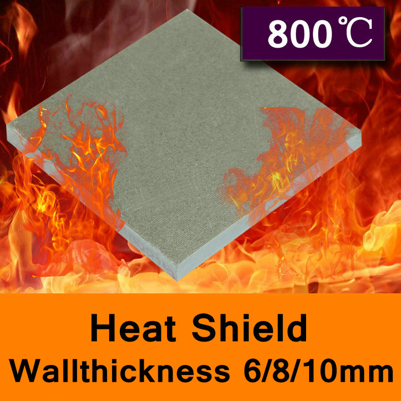 800 Degree Centigrade Mold Mould Heat Shield Glass Fibre Plate High-temperature Board In ...
