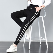 Long Leisure Pants Women Bottoms Summer Spring Female Clothe