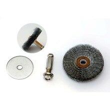 цена на Steel wire derusting brush  grinding machine  pneumatic steel wire brush tire repair grinding tool