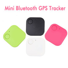цена на Smart Mini GPS Tracker Bluetooth 4.0 Key Finder Anti-lost Tracker for Child Kids Pets Elder Car Smart Key Finder Itag Alarm