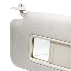 Image 3 - לניסן Tiida 2005 2006 2007 2008 2009 2010 פנים מול שמאל/ימין מגן שמש לוח Sunvisor עם איפור מראה