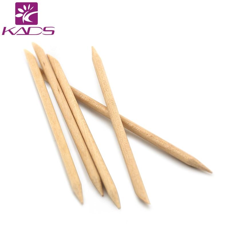 99ed5ab4b3071 HOTSALE 5 sztuk/zestaw Nail Art Design Cuticle Pusher Remover Manicure  Pielęgnacja/Pomarańczowy Drewno Stick Nail Narzędzia