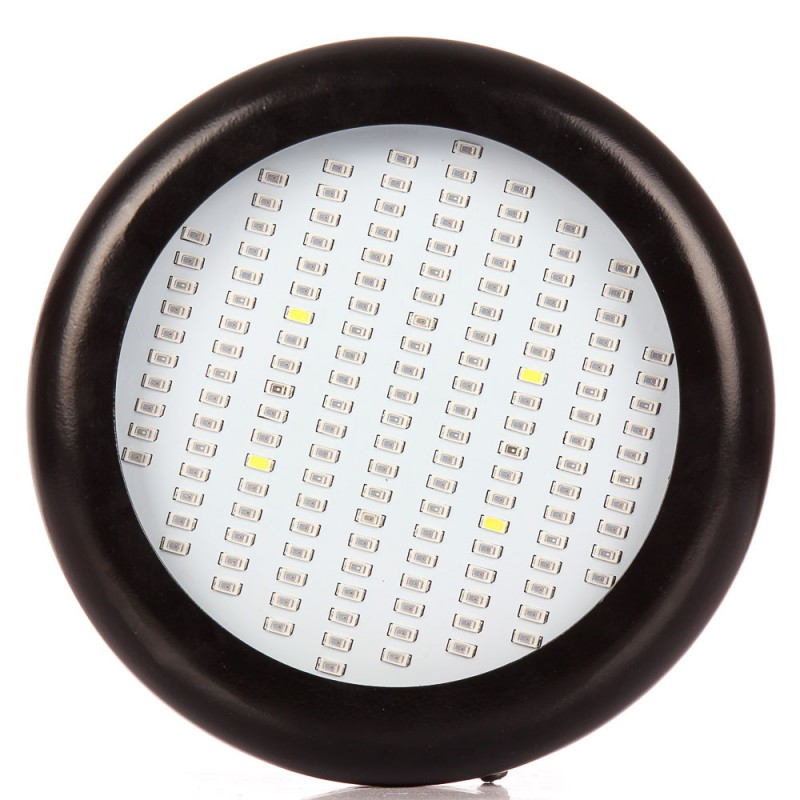 ФОТО 1pcs 150W Led UFO Grow Light Full Spectrum SMD5730 150leds 660nm 460nm 730nm 380nm for Hyfroponic System