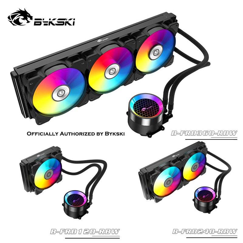 Bykski B-FRD-RBW une pièce CPU refroidissement par eau Kit RBW 120mm/240mm/360mm radiateur radiateur double Mode A-RGB carte mère pompe ventilateur