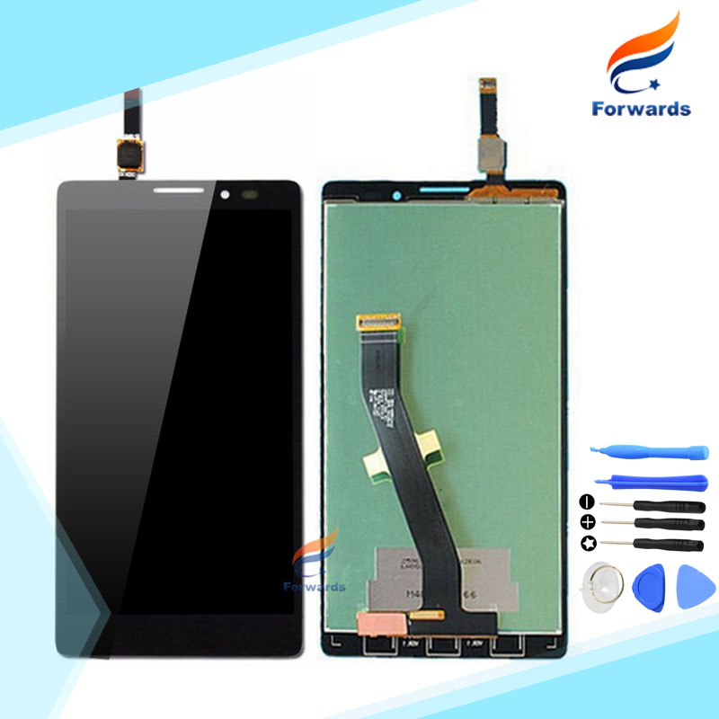1 Piece 100% Guarantee Replacement for Lenovo K910 LCD Display+Touch Screen Digitizer Assembly for VIBE Z with Free Tools