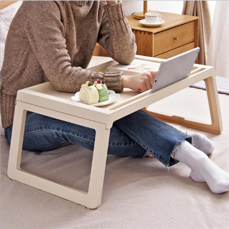 Standing-Desk Table-Notebook Sofa Laptop Folding Office-Use Mobile Portable Bed For Home