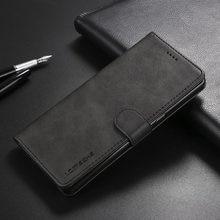 Чехол A8 + для Samsung Galaxy A8 Plus, кожаный роскошный чехол с откидной крышкой, чехол-бумажник для Samsung A8 2018, Винтажный дизайн книжки A730F A530F