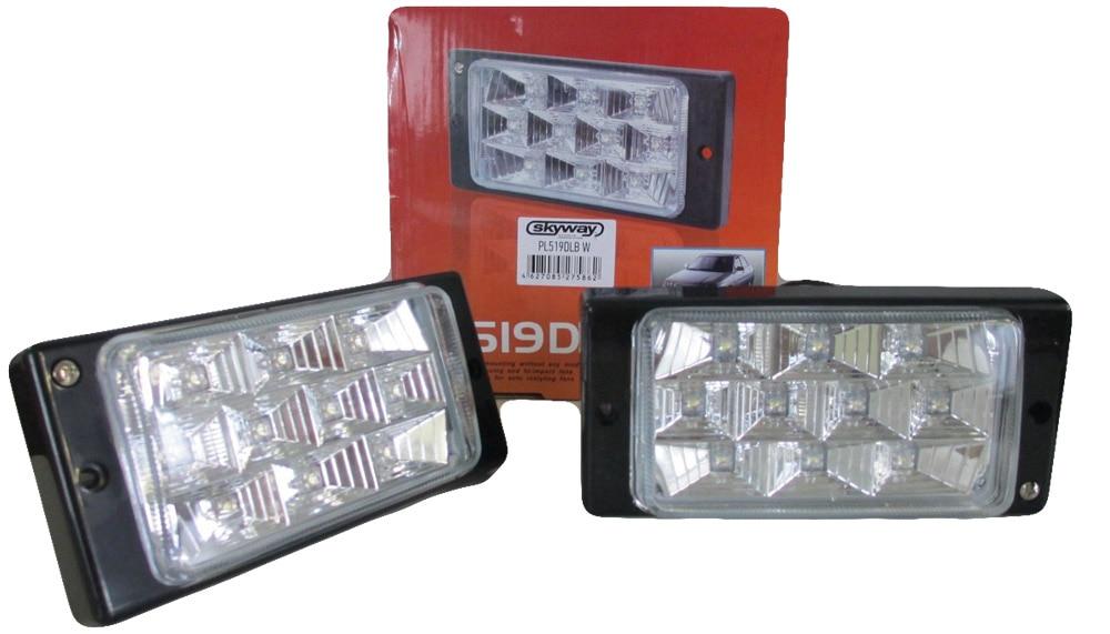 Fog lights for Lada 2110 2111 2112 2113 2114 2115 led 1 set Car accessories Styling Car Lights Decoration automotive lamp 2112 бу нижегородская область