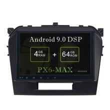 Автомобильный gps радиоплеер koocavs 9 дюймов ips android 90