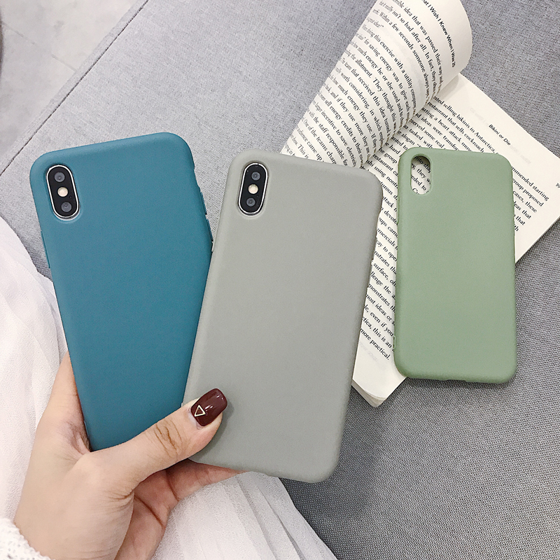 Image 3 - Solid Color Silicone Couples Cases For Huawei P20 P30 P10 mate 10 20 Pro Nova 2S Cute Candy Color Soft Simple Fashion Phone Case-in Fitted Cases from Cellphones & Telecommunications