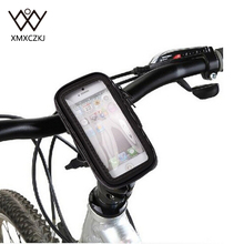 Waterproof Universal Bike Bicycle Mount Phone Holder Bag Case Soporte For  iPhone 6 Plus 6S Plus 5.5″ Samsung Galaxy S6