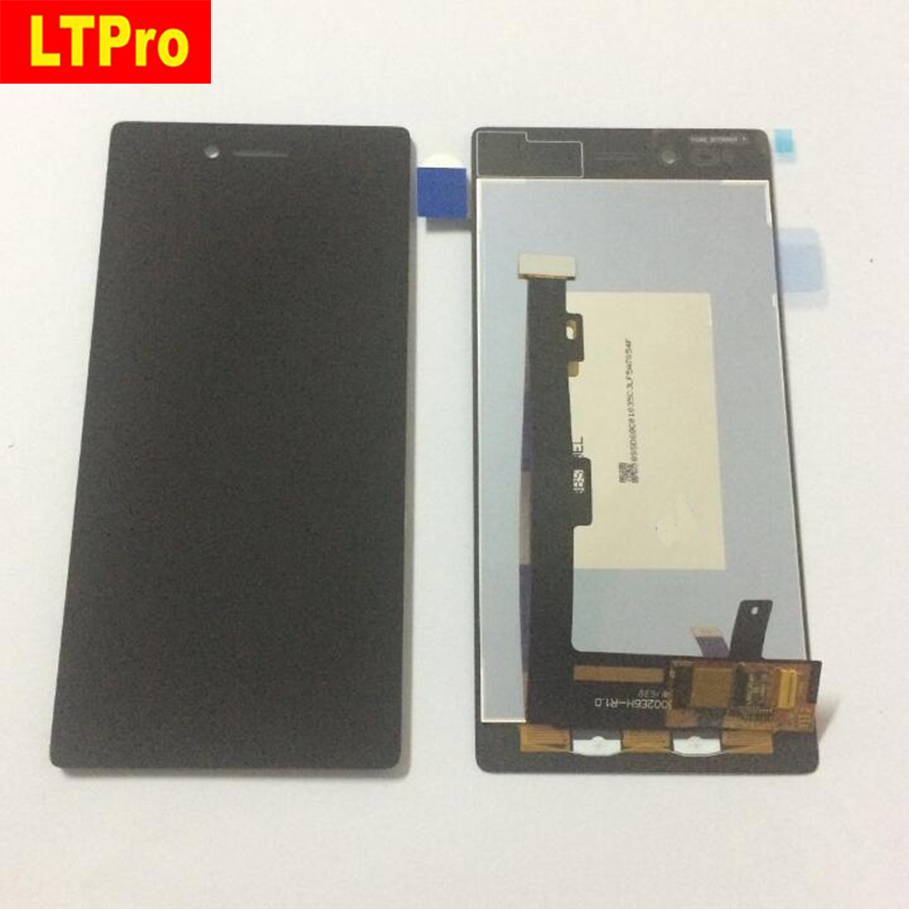 100 Tested Full LCD Panel With Touch Screen Digitizer Assembly For Lenovo VIBE Shot MAX Z90