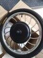 """BLDC 48 v 1000 w Front Drive Hinten Stick Roller Hub Motor Rad 20 """"Für Bike Für Elektrische Rikscha mit Aufblasbaren Reifen-in E-Bike Motor aus Sport und Unterhaltung bei"""