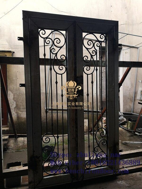 Whole Sale Best Iron Doors Iron Double Doors Iron Doors Best Price For Sale  Hc12