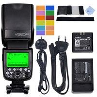 Godox V860IIO 2 4G TTL HSS 1 8000s Camera Flash Speedlite With Li On Battery For