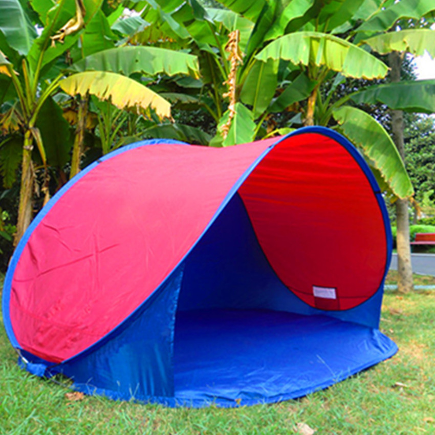 220x120x100cm 2-3 person portable beach tents outdoor lightweight portable Automatic beach tent pop up beach tent free shipping цена и фото