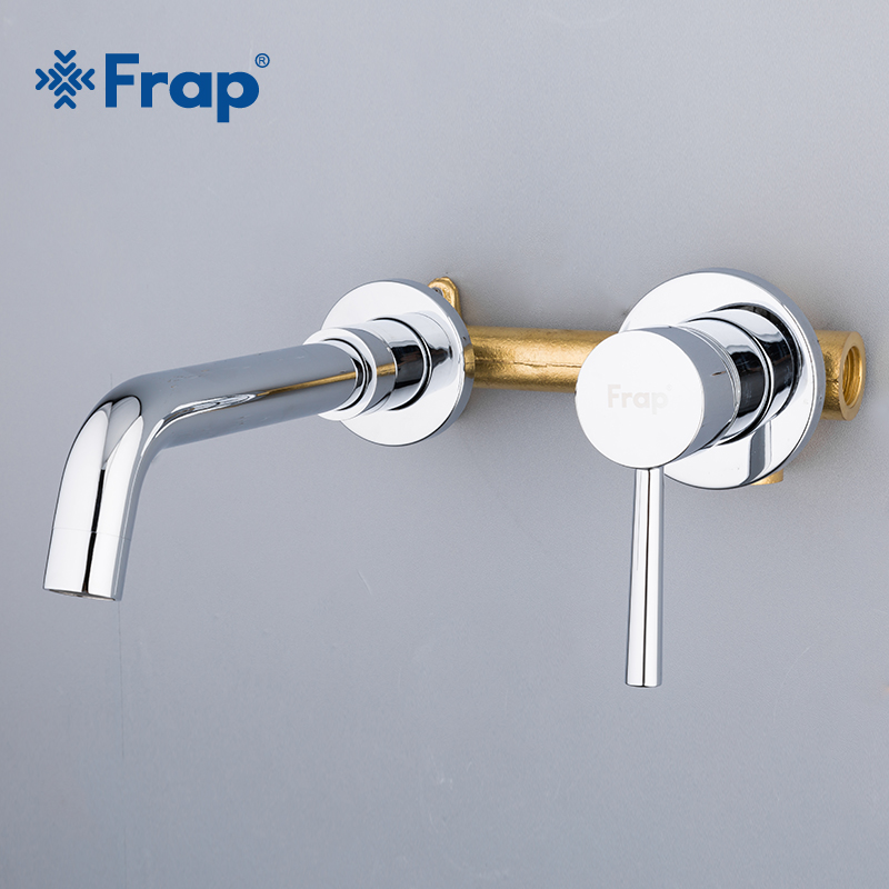 Bathroom Faucet Basin Mixer Sink Tap Single Handle Wall Mounted water Faucet
