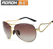 Free shipping new fashion lady polarized sunglasses gradient polarized sunglasses authentic female A275