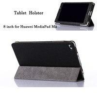 8 High Quality PU Leather Tablet Case For Huawei MediaPad M2 Fashion Flip Bracket Tablet Sleeve