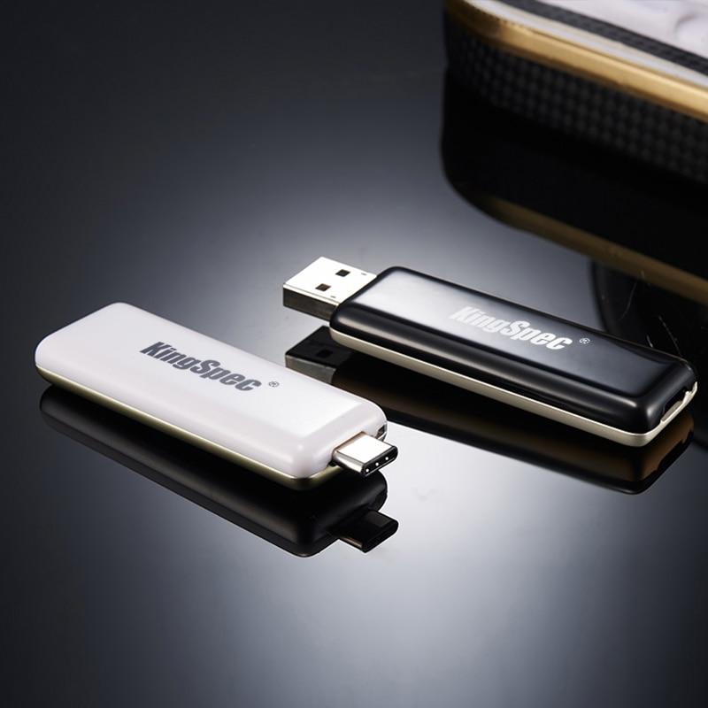 32GB 64gb USB 3.0 Flash Drive Disk Type C USB 3.0 Metal Pen Drive Mini Flash Drive Memory Disk Dual Interface KingSpec USB ourspop p5 usb 2 0 flash driver disk black white 64gb