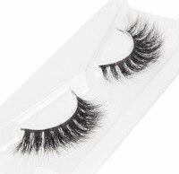 BEAUTY7 6Pairs Strip Lashes Mink Lash Mink Eyelashes Makeup False Eyelash Individual Eyelash Nautral Handmade Eyelash Extension