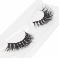 BEAUTY7 6Pairs Set 12pcs Strip Lashes Thick Long Mink Eyelashes Makeup False Eyelashes Nautral Handmade Fake