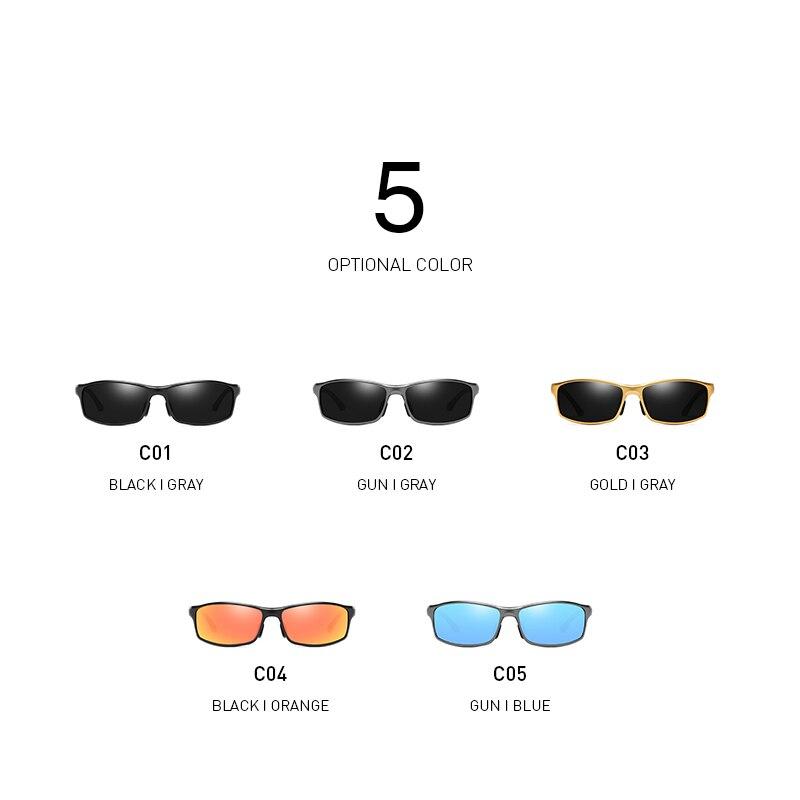 BANMAR 2019 Brand Men Aluminum Sunglasses Polarized UV400 Mirror Male Sun Glasses Women For Men Oculos de sol in Men 39 s Sunglasses from Apparel Accessories