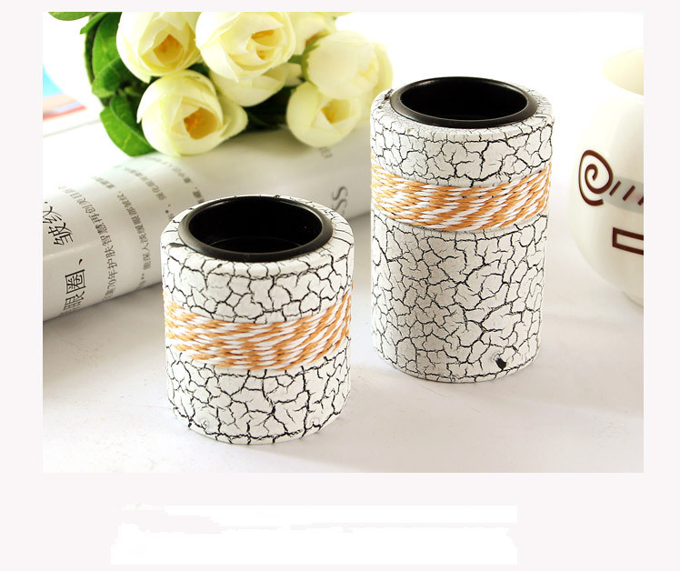 1PC Wooden Candle Tea Light Holder Home Stable Decoration Wedding Party Candlestick Decor Furniture Candlelight JL 068 in Candle Holders from Home Garden