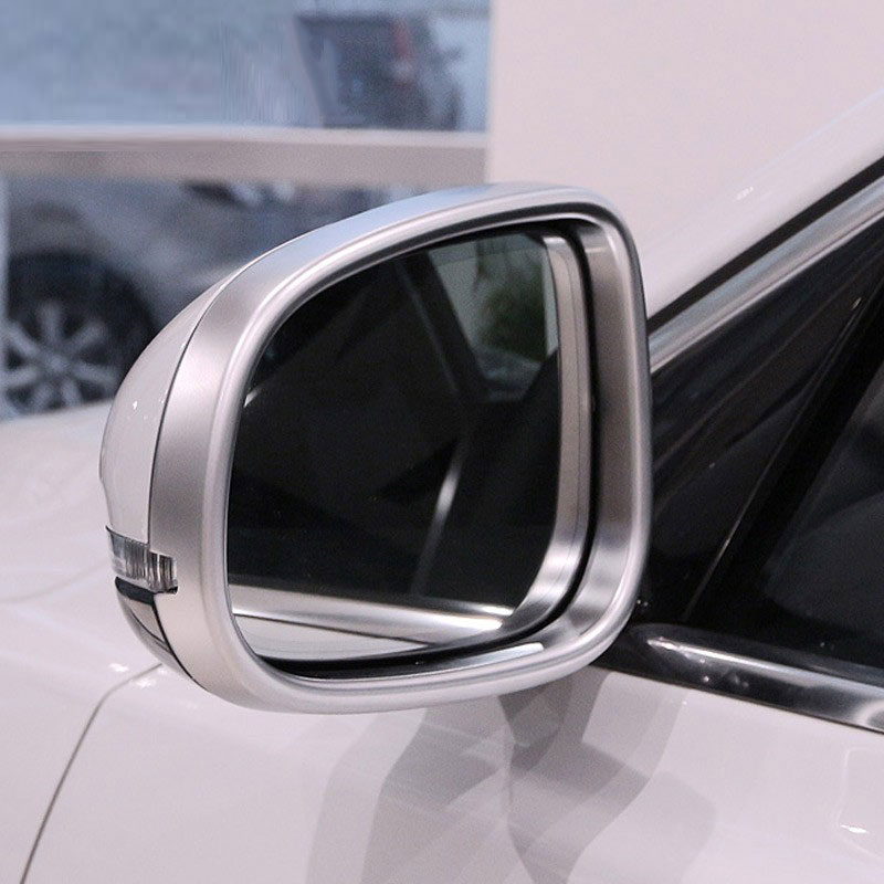 Pour Jaguar XE 15-16/XF 11-16 et XJ/XJL 10-16 Voiture-style ABS Extérieur chromé Côté Rétroviseur Cadre Garniture lot de 2 pièces