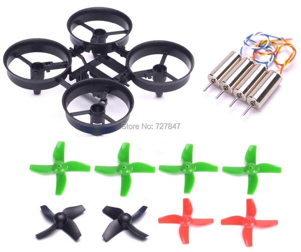 RC Quadcopter Rahmen und Propeller + 615 6x15mm 0615 6*15mm Corele Motor CW CCW für JJRC H36 E010 Klinge Inductrix Tiny