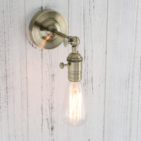 Permo Vintage Loft Wall Lamp Industrial Sconce Modern Wall Lights Home Loft Stair Lighting Christmas lights Bedroom Bedside lamp
