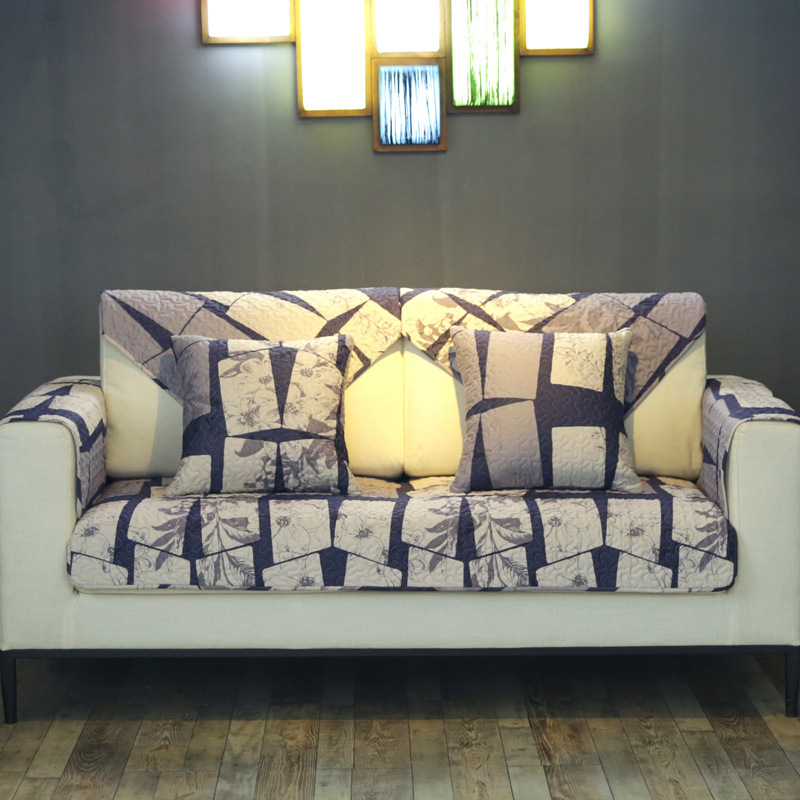 Wliarleo 100 Cotton Sofa Towel Backrest Sofa Slipcover
