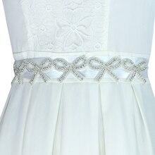 1 Pc Fashion Sew On Bling Bow Flower Rhinestone Applique Trim Flatback  Crystal Beaded Trim For 4de7cc6b311b