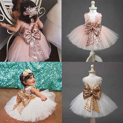 0-10t新ファッションスパンコールフラワーガールドレスパーティー誕生日結婚式王女の幼児服子供子供ガールのドレス