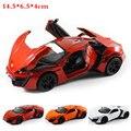 1:32 alta simulación exquisitos tira del modelo del juguete modelo de coche deportivo lycan vehículo modelo toys para niños de aleación modelo de coche