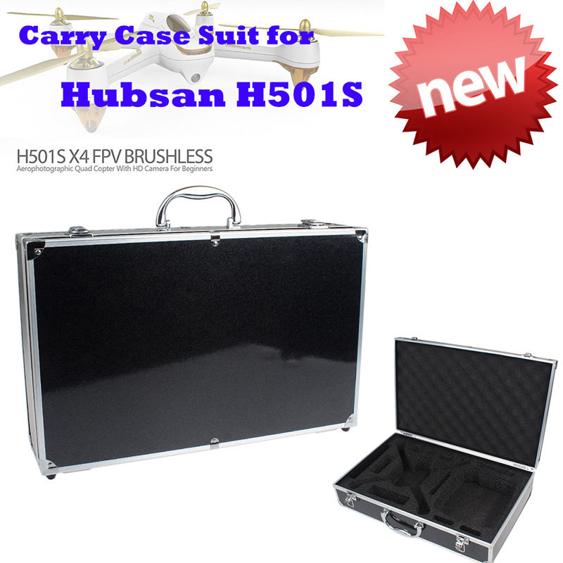 Free shipping Waterproof Hard Box Carrying Case Handbag for Hubsan H501S X4 FPV font b RC