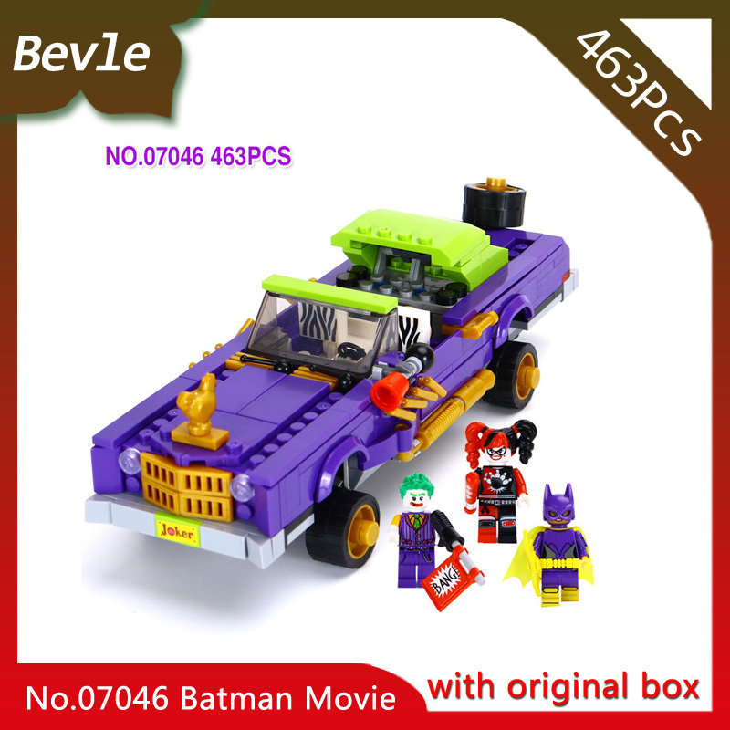 Bevle Store LEPIN 07046 433Pcs with original box movie series Low chassis car Building Blocks Bricks For Children Toys 70906 bevle store lepin 22001 4695pcs with original box movie series pirate ship building blocks bricks for children toys 10210 gift
