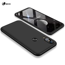 GKK Casing For Huawei Nova 3e Fundas Coque 360 Full Protection 3 In 1 Hard PC Mobile Phone Back Cover Case For Huawei P20 Lite(China)