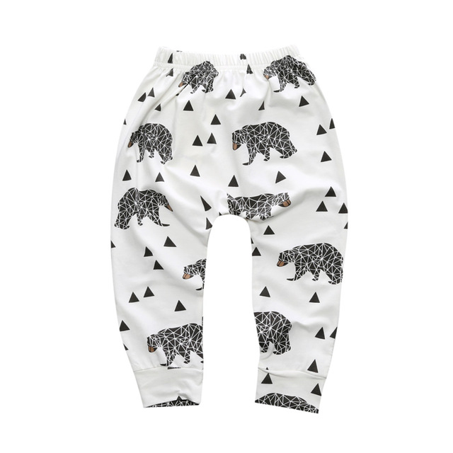Baby Boys Trousers For Girls Hot Arrival Geometric Pattern PP Pants Newborn Toddler Harem Pants Fashionable Variety Of Pants 7