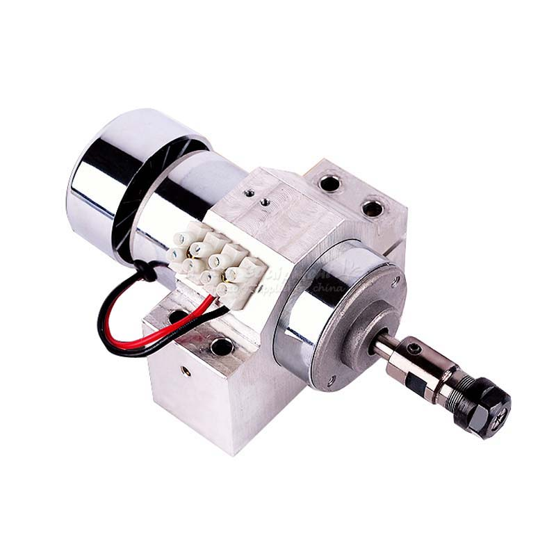300W Air-cooled high-speed spindle motor DC 48V engraving machine spindle PCB spindle tool C00006 50gb 775 dc motor dc motor machine tool dc12 24v
