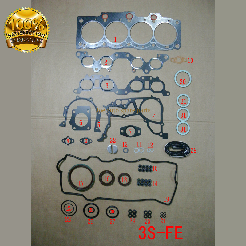 Back To Search Resultshome 3sfe For Toyota Rav 4 I Or Corona Avensis Picnic 2.0l Engine Rebuilding Kits Engine Parts Engine Gasket 04111-74740 50168200