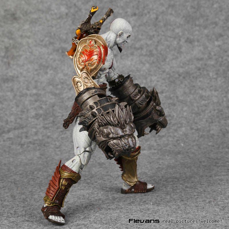 NECA God war 3 Ghost van Sparta Kratos PVC Action Figure Collectible Model Toy 22 cm