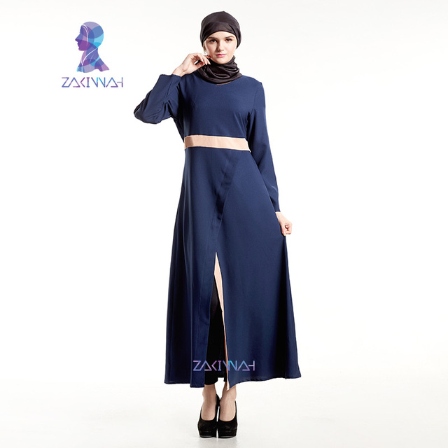 d48a43e400 Zakiyyah New Fashion Muslim Dubai Black Abaya Islamic Women Dress Clothing  Kaftan Abaya Turkish Adult-in Islamic Clothing from Novelty & Special Use