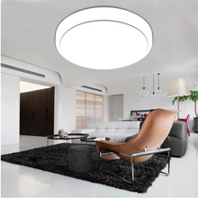 18W LED Round The Bedroom Balcony Ceiling Lamps Simplicity Modern White LED Ceiling Lights for Living Room Ceiling Light(China)
