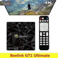 Beelink GT1 Ultimate Android 7 1 Smart TV Box Amlogic S912 Octa Core CPU Bluetooth4 0
