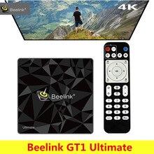 Beelink GT1 Ultime Android 7.1 boîtier de smart tv Amlogic S912 Octa Core CPU Bluetooth4.0 5G WiFi Set Top Box 4 k lecteur multimédia