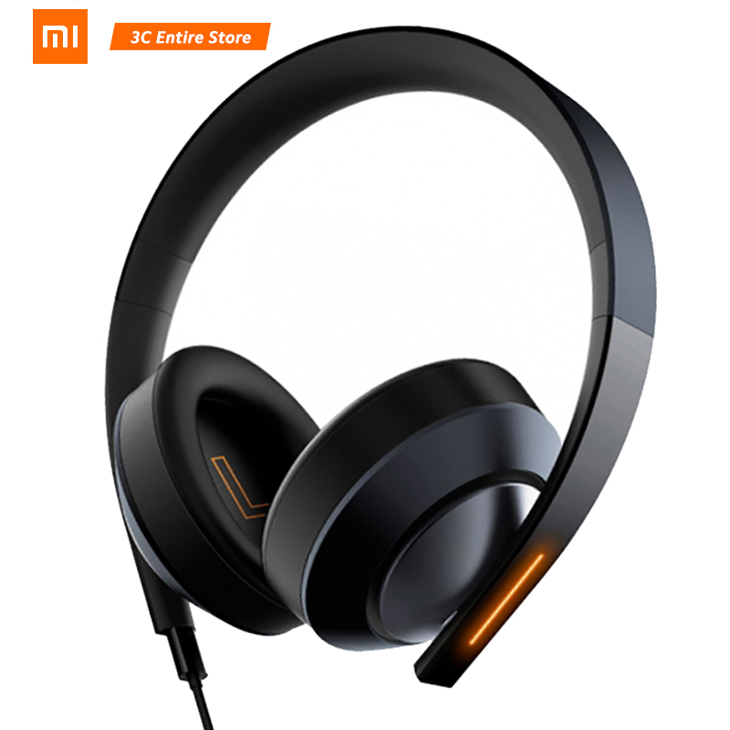 New Xiaomi Gaming Headphones 7.1 Mi Gaming Headset Virtual Surround Stereo With Backlit Anti-noise Headset For PC Laptop Phone oneodio professional studio headphones dj stereo headphones studio monitor gaming headset 3 5mm 6 3mm cable for xiaomi phones pc