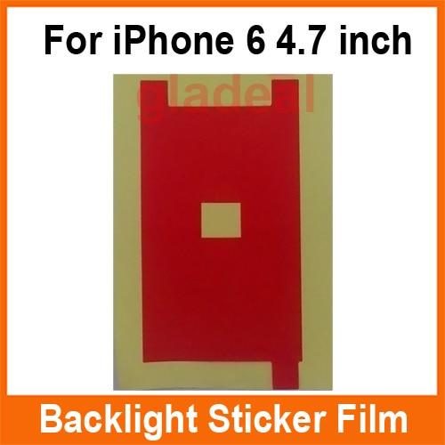 100 Pcs LCD Backlight Sticker Film Refurbishment Refurbished Replacement Repair Parts For iPhone 4 4S 5 5S 6 6 Plus 6S 6S Plus